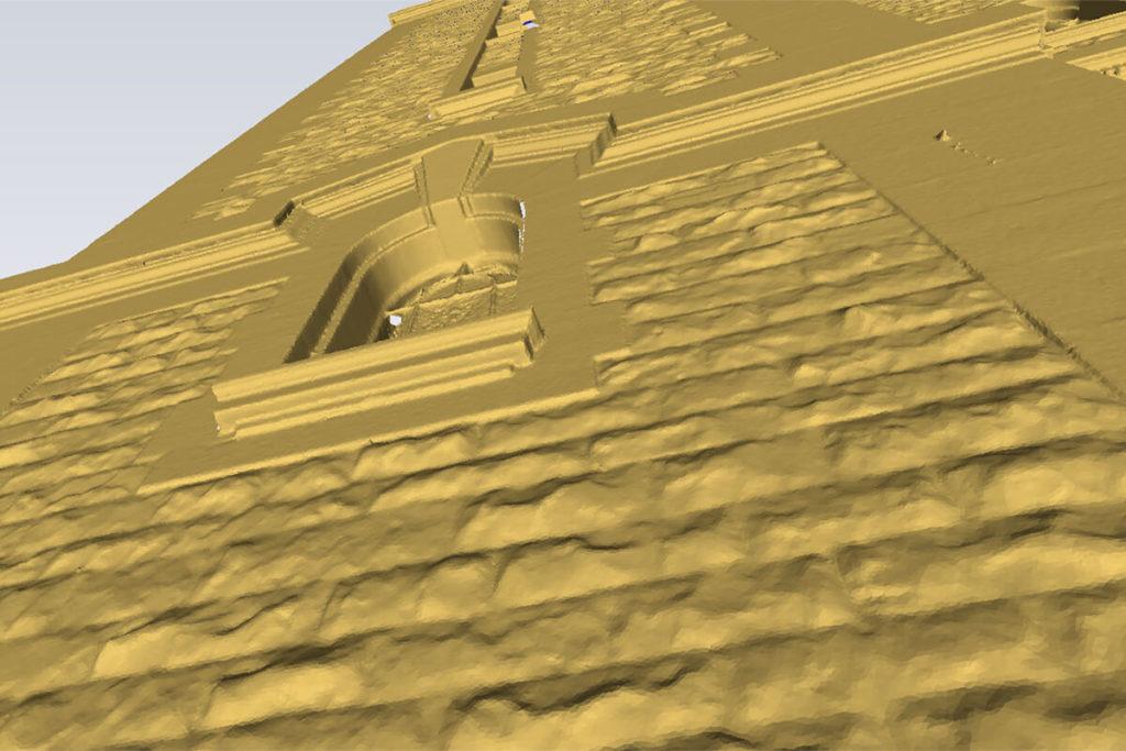 Modelisation 3D eglise conservation du patrimoine
