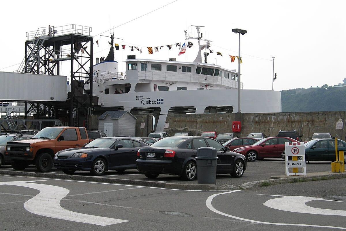 Scan 3D au traversier de Québec et Lévis